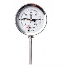 Термометр биметаллический коррозионностойкий ТБф-220 d.160 РШ