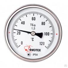 Термометр биметаллический коррозионностойкий ТБф-220 d.160 ОШ