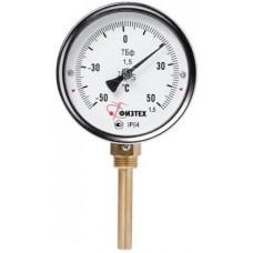 Термометр биметаллический радиальный ТБф-120 d.63 РШ
