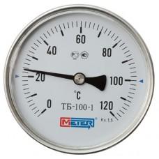 Термометр биметаллический ТБ-100-1