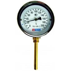 Термометр биметаллический ТБ-100-2