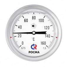 Термометр биметаллический БТ-51.220 Силикон