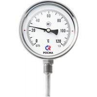 Устройство биметаллических термометров