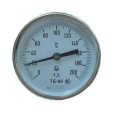 Термометр биметаллический ТБ-80