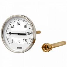 Термометр биметаллический Wika A50.80